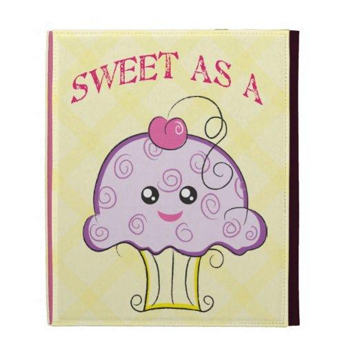 Sweet as a Cupcake iPad Folio Cases