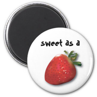 Sweet as a Strawberry Refrigerator Magnets