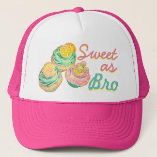 sweet as bro cupcake hat
