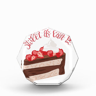 Sweet As Can Be Acrylic Award