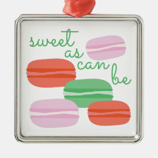Sweet As Can Be Metal Ornament