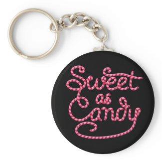 Sweet as Candy zazzle_keychain