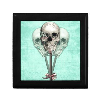 Sweet as Candy Lollipop skulls. Gift Box