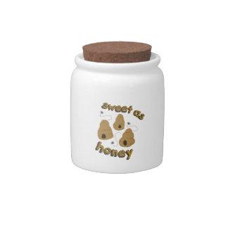 Sweet As Honey Candy Jar
