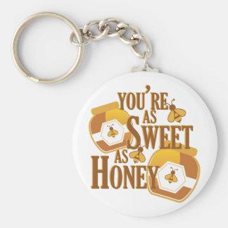 Sweet As Honey Keychain