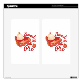 Sweet As Pie Decal For Kindle Fire