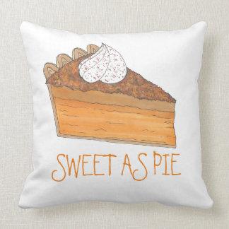Sweet As Pie Sweet Potato Pie Holiday Pillow
