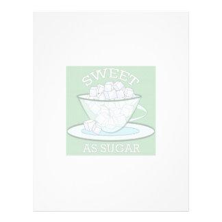 Sweet As Sugar Custom Letterhead