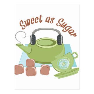 Sweet As Sugar Postcard