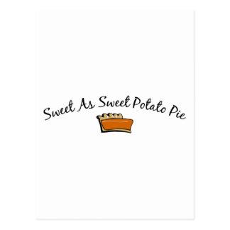 Sweet As Sweet Potato Pie Postcard