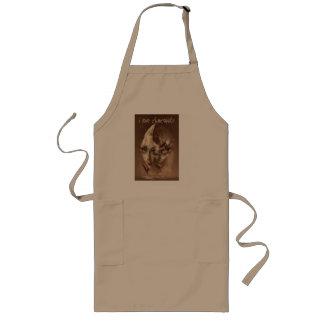 sweet ash chocolat long apron