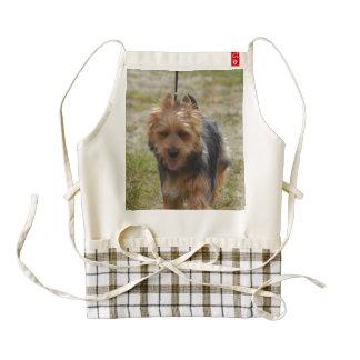 Sweet Australian Terrier Zazzle HEART Apron