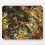 Sweet Autumn Abstract Fractal Art Mouse Pad