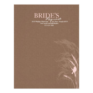 Sweet Autumn Bride Letter Head Letterhead