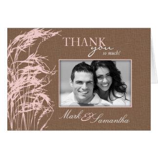 Sweet Autumn Bride TY Card