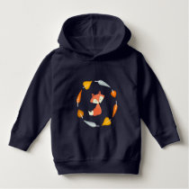 Sweet Autumn Leaves Fox Hoodie