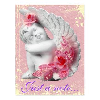 Sweet Baby Angel Customizable Postcard