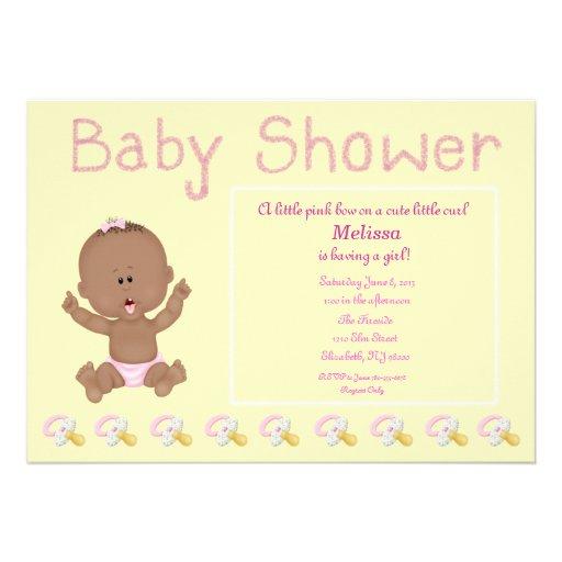 """Sweet Baby"" Baby Shower Invitation"