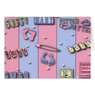 Sweet Baby, Baby Shower  Invitations