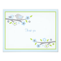 Sweet Baby Bird Thank You Note Cards