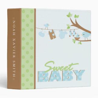 Sweet Baby Boy 3 Ring Binder