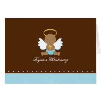 Sweet Baby Boy Christening Card