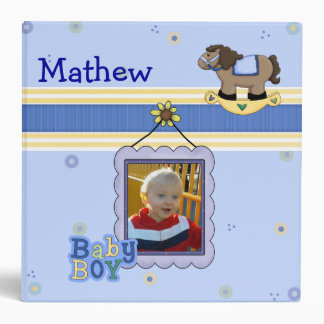 Sweet Baby Boy Memory Album Binder