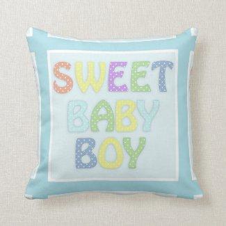 Sweet Baby Boy Pillow