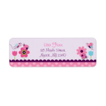 Sweet Baby Bug Address Labels