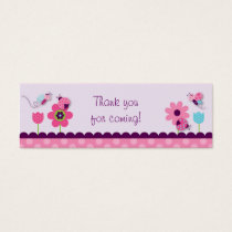 Sweet Baby Bug Goodie Bag Tags