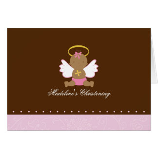 Sweet Baby Christening Card
