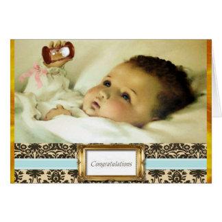Sweet Baby Congratulations Card