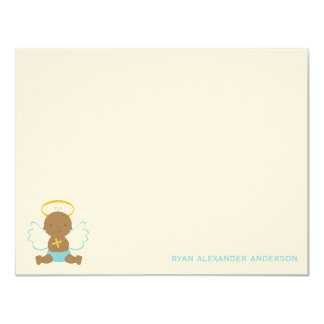 Sweet Baby Custom Flat Thank You Notes Card