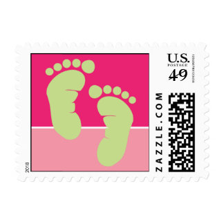 Sweet Baby Feet Postage Stamp