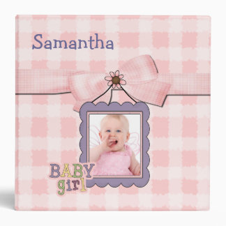 Sweet Baby Girl Memory Album Binder