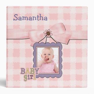 Sweet Baby Girl Memory Album Binder