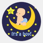Sweet Baby It's A Boy Stickers