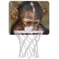 sweet baby monkey mini basketball backboard