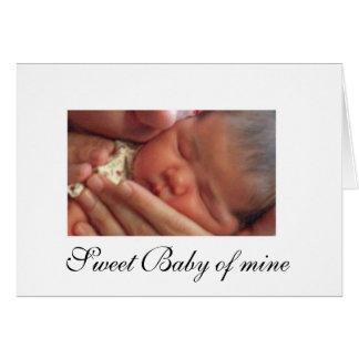Sweet Baby of mine Card