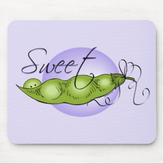 Sweet Baby Pea Mouse Pad