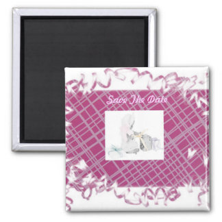 Sweet Baby Shower 2 Inch Square Magnet