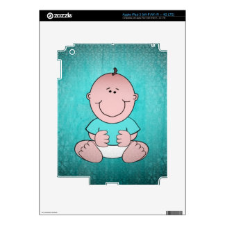Sweet Baby TIMMY Decals For iPad 3
