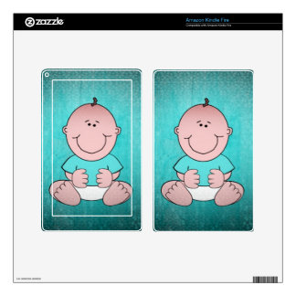 Sweet Baby TIMMY Decal For Kindle Fire