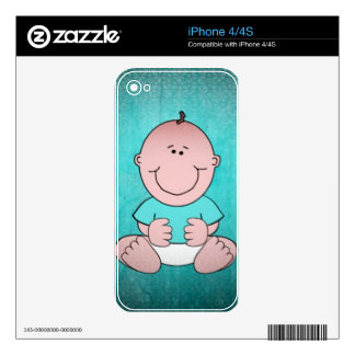 Sweet Baby TIMMY Decals For The iPhone 4