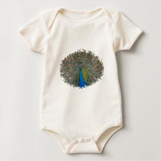Sweet Baby Wear - Peacock Finery Baby Bodysuit