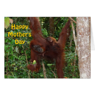 Sweet Baby with Mother Happy Mother's Day Card