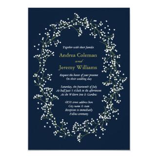 Sweet Baby's Breath Wedding Invite