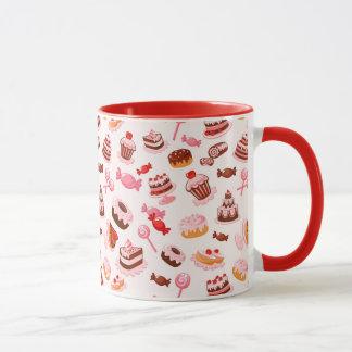 Sweet background mug