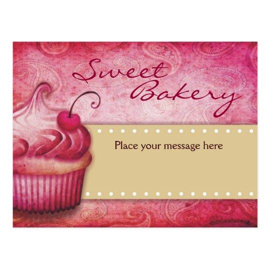 Sweet Bakery Postcards