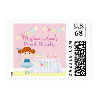 Sweet Ballerina Cupcake Celebration Postage